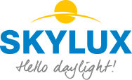 logo AG PLASTICS - SKYLUX